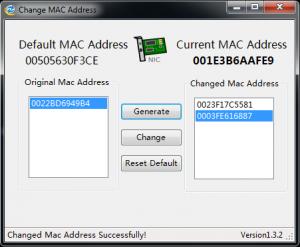 changeMACAddress screenshot