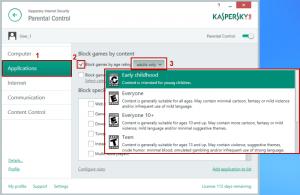 kaspersky 2016 review - parental control